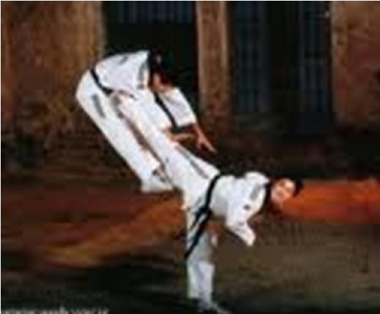 پاورپوینت بررسی آسیب های رایج در میان ورزشكاران رشته تكواندو