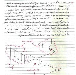 جزوه آموزشی بسیار کامل و کاربردی طراحی لوله کشی و تحلیل تنش جزیره بویلر نیروگاه سیکل ترکیبی